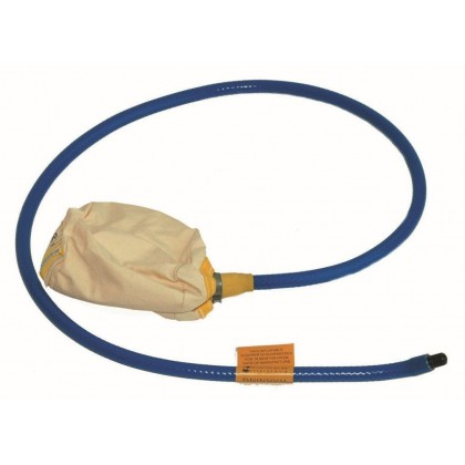 Canvas Drain Air Test Bag 4""