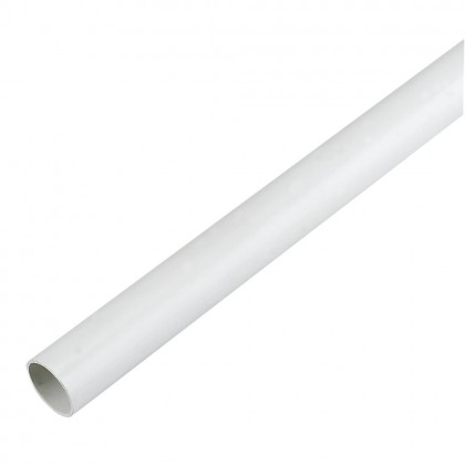 21.5mm X 3m Solvent Overflow Pipe Ns43:W