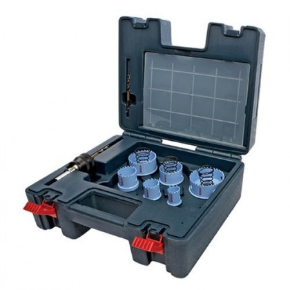 Bosch Hsm15pce 15-Piece Bi-Metal Hole Saw Sheet Metal Set