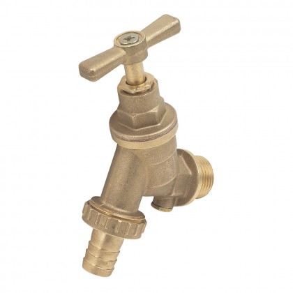 "Outside Tap With Hose Union 15mm X 1/2""Mm"