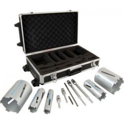 Mexco Diamond Core Drill Kit 5 Core Kit