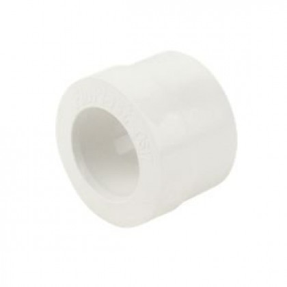 White Solvent Weld Overflow Waste Reducer 32mm X 21.5mm