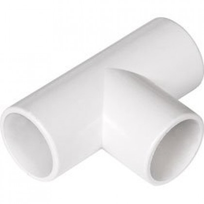 Solvent Weld Overflow Tee 21.5mm (Pipe Connection)