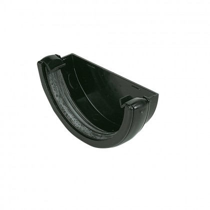 Floplast External Stop End 112mm Black