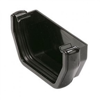 Rs207 Black External Stop-End For 112 X 65mm