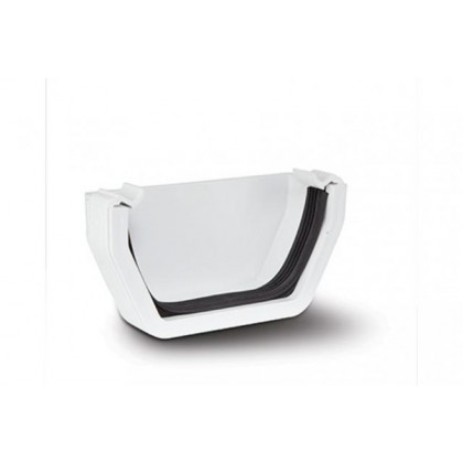 Rs207 White External Stop-End For 112 X 65mm