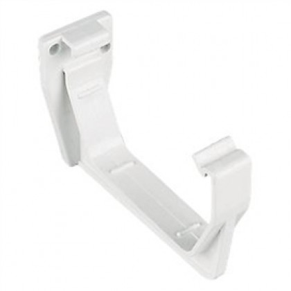 Gutter Square Fascia Bracket 112mm White Rs209w