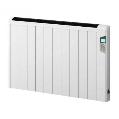 Reina Arlec Aluminium Electric Radiator with Remote Control 900W- 565 x 490mm