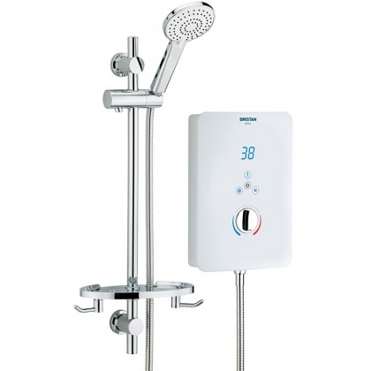 Bristan Glee Electric Shower 10.5kW - White