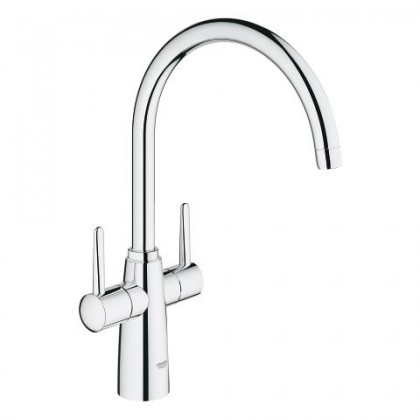 "GROHE Ambi Two handle sink mixer 1/2"" kitchen tap"