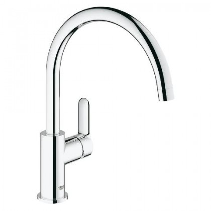 GroheBauEdge Single-lever sink mixer 1/2""