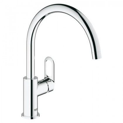 Grohe Bauloop Single-Lever Kitchen Sink Mixer 1/2''