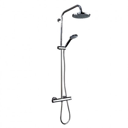SCUDO MIDDLETON THERMOSTATIC BAR VALVE WITH ADJUSTABLE RIGID RISER SHOWER002